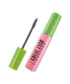 Maybelline Great Lash Mascara.  This was every girl's first mascara.  I can't tell you how many times I poked my eye out with the wand.  Ouch!
