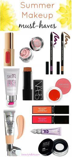 Summer makeup Must-haves via @beautytidbits