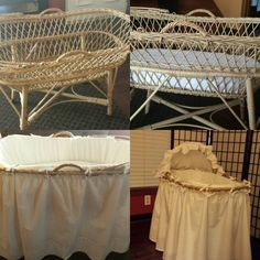 Custom made bassinet! Bassinet, Custom Made, Bed, Furniture, Home Decor, Crib, Decoration Home, Stream Bed, Room Decor