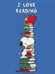 Snoppy Charles M. Schulz Snoopy More Recent Drug Abuse Statistics Recently, the results of the Scott Snoopy E Woodstock, Snoopy Love, Charlie Brown And Snoopy, I Love Books, Books To Read, My Books, I Love Reading, Reading Books, Reading Quotes