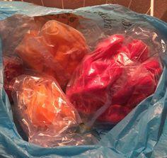 Frozen peppers - peperoncini congelati interi