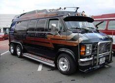 Custom VANS natural BABES & other bad ass transportation. Customised Vans, Custom Vans, Station Wagon, Custom Van Interior, Kangoo Camper, Chevrolet Van, 6x6 Truck, Vw Lt, Old School Vans
