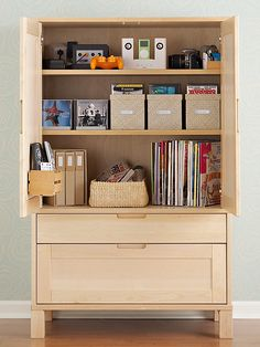 Revamped Armoires For Small-space Storage