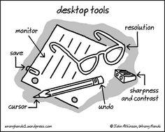 Old school desktop tools
