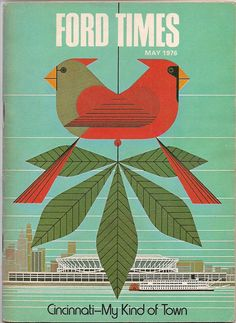 Ford Times cover by Charley Harper