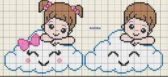 Mini Cross Stitch, Cross Stitch Heart, C2c Crochet, Crochet Patterns, Cross Stitch Alphabet Patterns, Butterfly Coloring Page, Baby Disney, Pixel Art, Kids Rugs