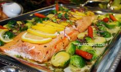 ... thyme more life centre christmas baked salmon lemon thyme maple syrup