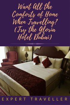 At the Gloria Hotel in Dubai you can have the luxury of an apartment stay, with all the comforts of home, in a hotel complex with a wide range of facilities. Dubai Hotel, Instagram Tips, Travelling, Range, Luxury, Home Decor, Room Decor, Ranges, Home Interior Design