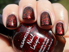 Polished Claws Up!: Kleancolor - Chunky Holo Scarlet