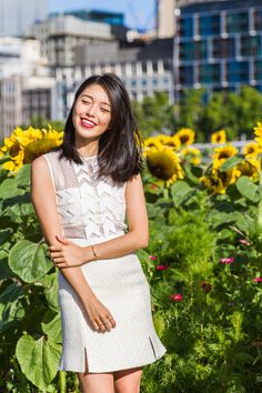 k is for kani sunflower fields melbourne australia victoria self portrait dress 2
