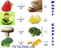 Are you eating these POWER COUPLES !!!??  Maximize the impact of your food!