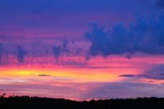 Watercolor Sunset--Martinsburg, West Virginia