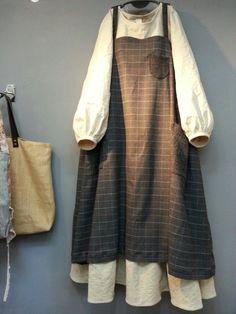 Olive's Linen Story-Redhead Anne … – Best Of Likes Share Iranian Women Fashion, Muslim Fashion, Korean Fashion, Mori Girl Fashion, Modest Fashion, Fashion Dresses, Moda Natural, Mode Turban, Stylish Outfits