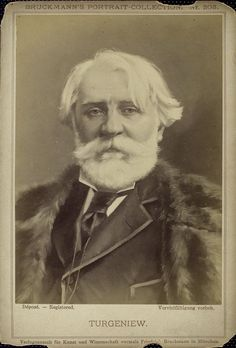 Turgenev late in his career.