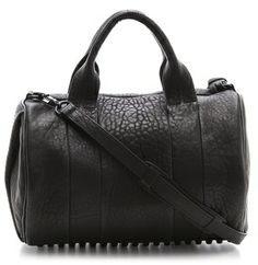 925 Alexander Wang Rocco Duffel with Black Hardware on shopstyle.com