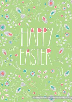 Happy Easter © Rebecca Stoner www.rebeccastoner.co.uk