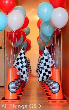 decoração no corredor