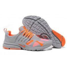 check out f6d8a 477de Billig Nike Air Presto V4 Unisexschuhe Grau Orange Schuhe Online    Verkaufen Nike Air Presto Schuhe