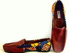 There African Print Sneakers are one of a kind! Find the best African Print Sneakers Stores online and Shop Your Favorite Ankara Shoes with Style! African Inspired Fashion, African Print Fashion, Africa Fashion, African Prints, Me Too Shoes, Men's Shoes, Shoe Boots, African Attire, African Wear