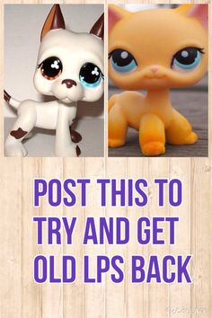 The LPS show just really brought things downhill for me, they started making them like the ones in the show, BIG FAIL. And they started giving them names, which depressed me because i love naming my pets, and i know i still can, but it really cuts down on the creativity. and the new lps eyes are really bad, they look creepy, and less cute, and even though they came out with the bobbly head ones, (Which i much appreciate), they started going downhill. i bought one and its texture was all…
