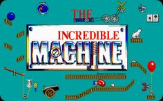 The Incredible Machine.  This game here was the only computer game that I've ever played in a school class room, that was actually fun!  Loved the puzzles.