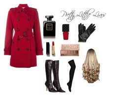 Red Coat#49 by allison-vysotsky on Polyvore featuring polyvore, fashion, style, Burberry, Yves Saint Laurent, Lanvin, Urban Decay, Chanel, WigYouUp, Gucci and clothing