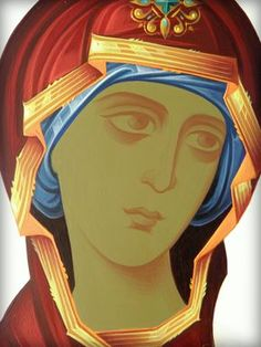 Religious Images, Religious Icons, Religious Art, Byzantine Art, Byzantine Icons, Paint Icon, Face Icon, Russian Icons, Blessed Mother Mary