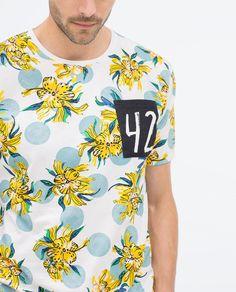 Mens Polo T Shirts, Zara, Shape Of Your Body, Color Combinations, Polo Ralph Lauren, Men Casual, Tees, Mens Tops, Aboriginal Art