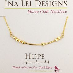 Morse Code Pendant HOPE Charm Silver Bar Inspirational Findings Dots