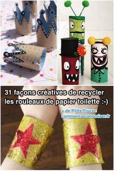 31 Façons Créatives de Recycler les Rouleaux de Papier Toilette.