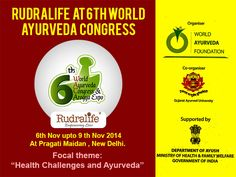 Rudralife at 6th World Ayurveda Congress: World Ayurved Foundation is organizing a 4 day World Ayurveda Congress and Arogya Expo 2014 from 6th Nov upto 9 th Nov 2014 at Pragati Maidan , New Delhi. Full range of ISO Lab tested Rudraksha will be on display at our stall for details contact mob no. 9372580529 or 0712-2591731