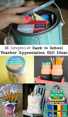 16 Inexpensive Back to School Teacher Appreciation Gift Ideas | Rhea Lana's
