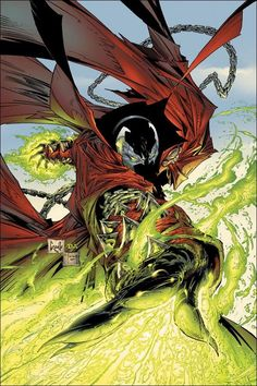 spawn 96 Art by Comic Artist Greg Capullo Comic Book Artists, Comic Book Characters, Comic Artist, Comic Character, Comic Books Art, Spawn Comics, Bd Comics, Image Comics, Marvel Dc Comics