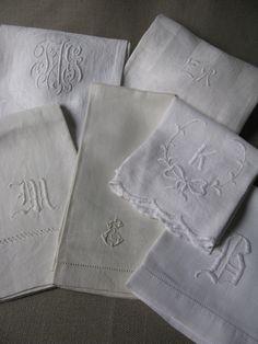 linen hand towels.