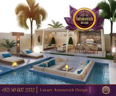 Contemporary Exterior Design!Nice over-all!We make only modern design concept!Everything should be comfort and homelike! For more inspirational ideas take a look at: http://www.antonovich-design.ae/ You can give us a call!☎️ +971 50 607 2332 #antonovichdesign, #design, #interiordesign, #housedesign, #homeinterior, #exterior, #decor, #villadesign, #abudhabi