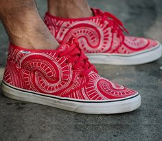 Supreme x Vans-Chukka and Era (Spring 2014)