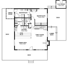 A-Frame Contemporary - 11018G | Architectural Designs - House Plans