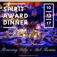 Get tickets for the upcoming Annual Laura Lee Blanton Community Spirit Award Dinner event at River Oaks Country Club in Houston. Spirit Awards, Hospice, Get Tickets, Laura Lee, Houston, Community, Events, Dinner, Dining