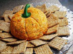 Pumpkin Cheeseball..