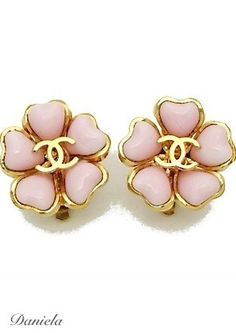 7507057b860603 Vintage Chanel Earrings Chanel Logo, Coco Chanel, Vintage Chanel Earrings,  Chanel Jewelry,