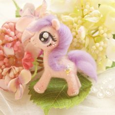 Fashion-Handicraft-Wool-Felt-Woolen-Needle-Poke-My-Little-Pony-Doll-DIY-Kits