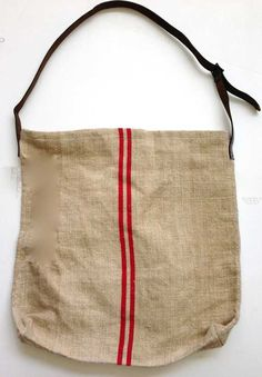 Grain Sack Tote- to use the ones I bought 4 years ago