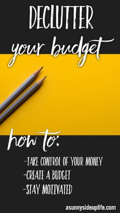 Simple ways to declutter your budget Budgeting Worksheets, Budgeting Finances, Budgeting Tips, Financial Peace, Financial Tips, Financial Planning, Financial Assistance, Living On A Budget, Frugal Living