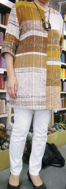 いろんなかたちで身に着けてます♪ - 手織適塾さをり 横浜通信 -さをり織り情報ブログ