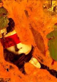 """14-Toulouse Lautrec x Cris Acqua.  Pintura Mixta Collage. 30x21 cm. HOMENAJE :""""Mi amor por este genial pintor...dueño de los trazos más libres y geniales de la Belle epoque, me han influido totalmente en mi camino por el arte..."""" (Cris Acqua)  http://www.crisacqua.com"""