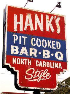 Hank's Pit Cooked Bar-B-Q..Richmond, Virginia