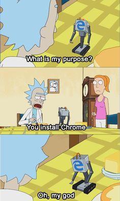 What's my purpose?