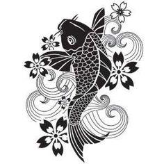Koi Fish Stencil | more similar items