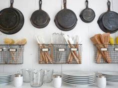kitchen organizing To keep your kitchen spare and neat