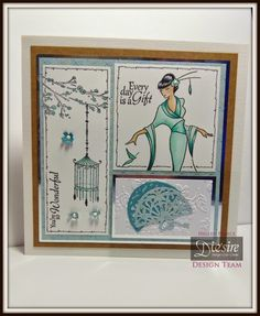 Ellie's Cupboard: Crafter's Companion Kimono Collection Launch